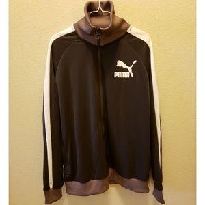 Puma brown Vintage track jacket T7 size L